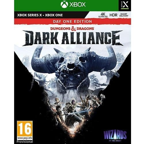 Dungeons and Dragons Dark Alliance Xbox Series X Game